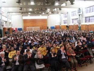 Charla de Políticos RAP con alumnos de colegios secundarios