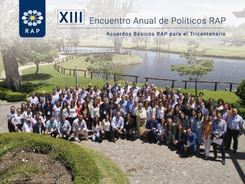 XIII Encuentro Anual de Políticos RAP