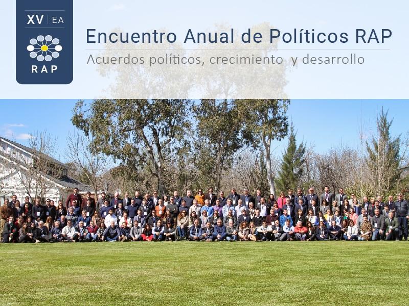 XV Encuentro Anual de Políticos RAP