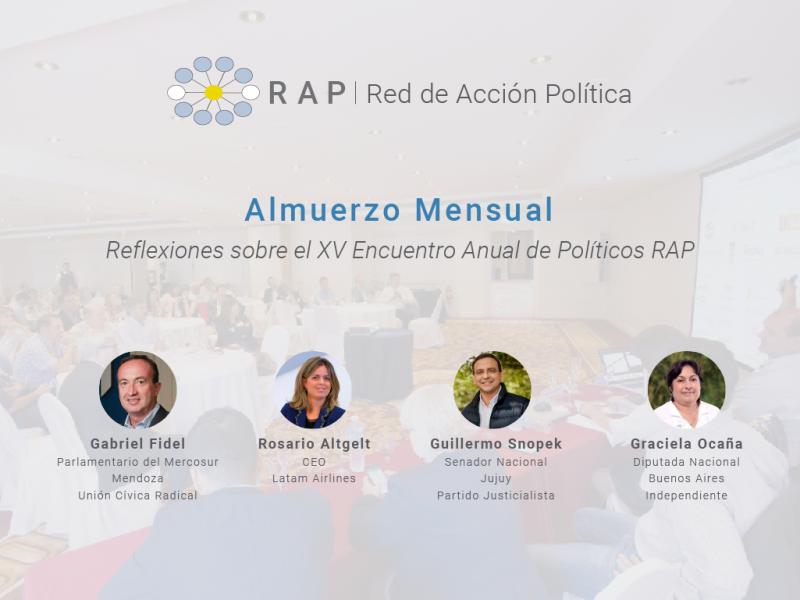 Reflexiones sobre el XV Encuentro Anual de RAP