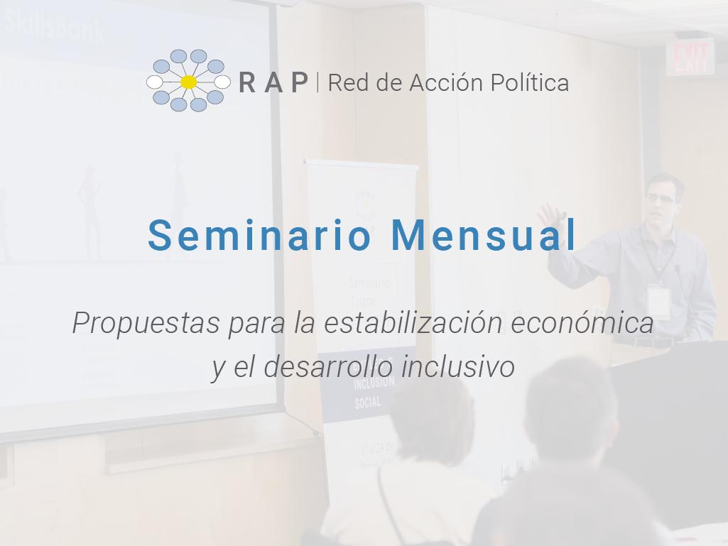 Propuestas para la estabilización económica y el desarrollo inclusivo