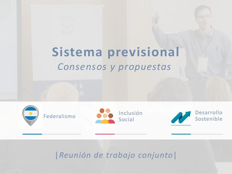 Consensos y propuestas sobre el sistema previsional
