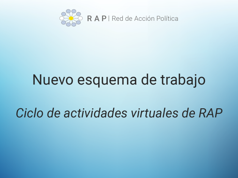 Ciclo de actividades virtuales de RAP