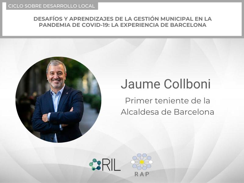 Desafíos del COVID-19 para los municipios: Barcelona